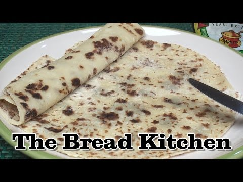 Norwegian Lefse Recipe in The Bread Kitchen
