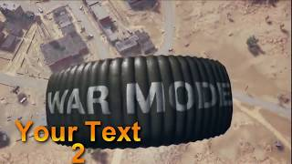 TEMPLATES #6 Intro SONY VEGAS 6 Top Free Templates PUBG Text Download Free Templates 2020