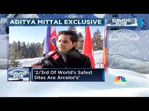 Davos 2019: Aditya Mittal Speaks About The Battle For Essar Steel