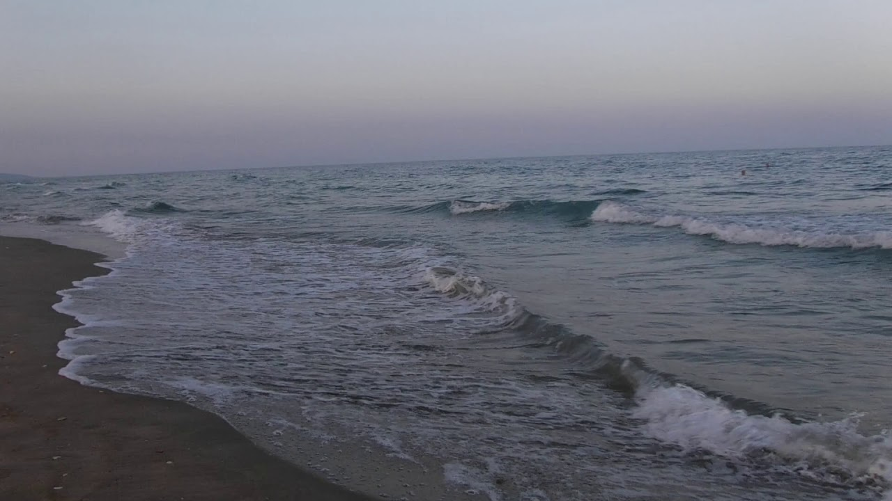 Abendstimmung am FKK Strand von Cap d Agde - YouTube