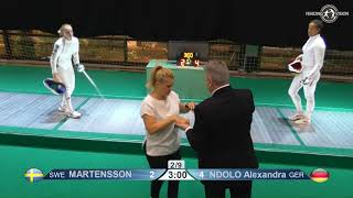 Novi Sad European Championships 2018 Day06 T16 WE SWE vs GER