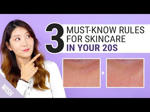 The Secret To Younger Looking Skin | Night Routine for Ageless Skin in Your 20s | Wishtrend