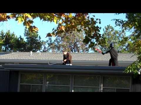 Saint Mark's School. Mr. Forrester - Roof. Halloween 2009