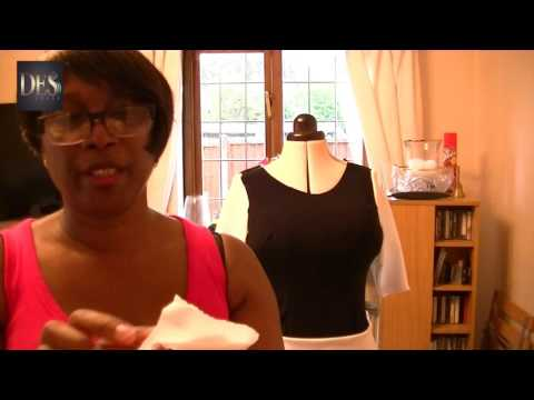 Learn how to make a dress without a pattern Part 2