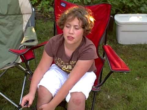 Camping at Memaloose