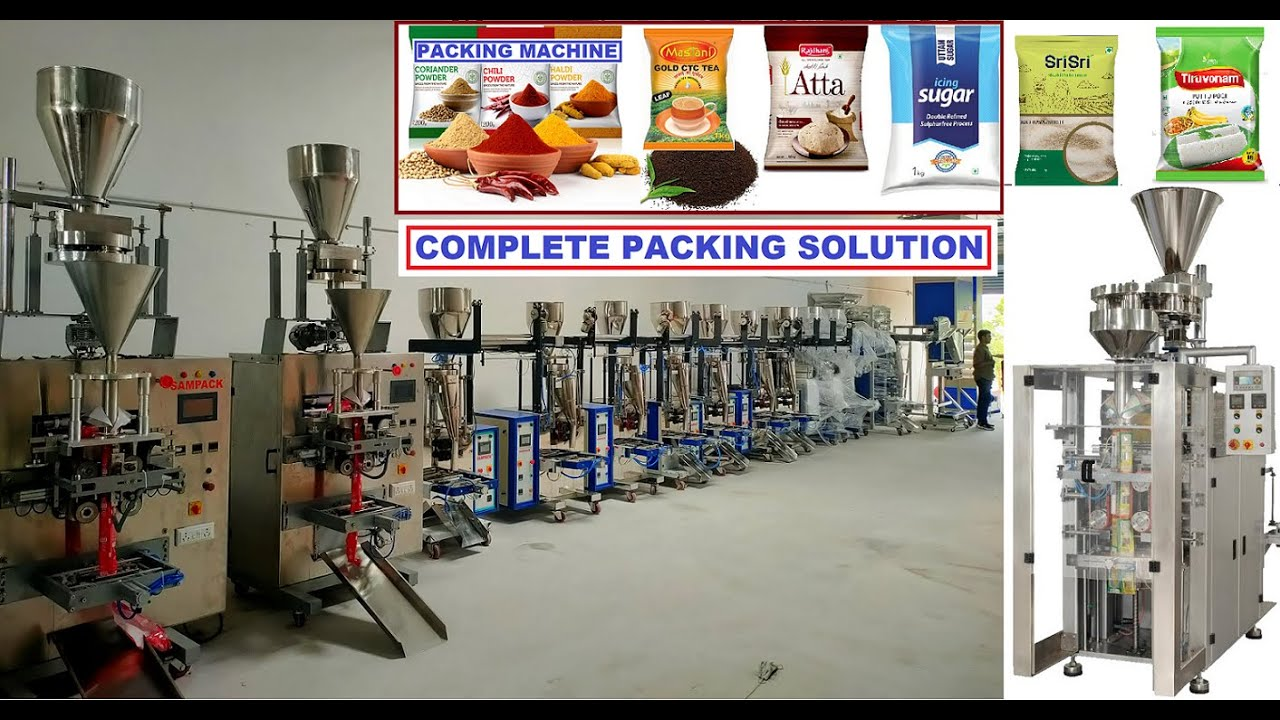 Download Packing Machine Manufacturer in Coimbatore Food Products Packing Machine Automatic packing machine