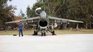 a7 corsair at araxos air force base