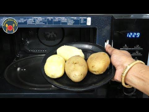 माइक्रोवेव में आलू उबालने का सही तरीका - Microwave Recipes - Seemas Smart Kitchen