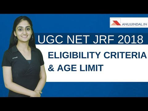 NET JRF 2018 | ELIGIBILITY CRITERIA AND AGE LIMIT