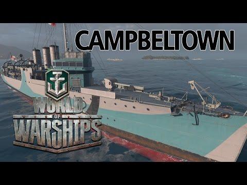 World of Warships - Campbeltown Premium