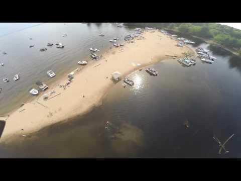 Leech Beach, Sebago Lake