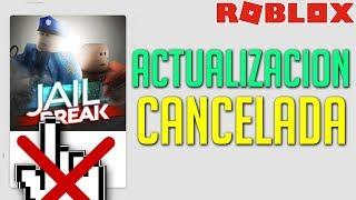 CANCELED JAILBREAK UPDATE in ROBLOX 😭