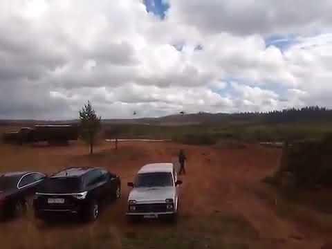 Un helicóptero ruso lanzó por error un misil a civiles durante entrenamiento militar