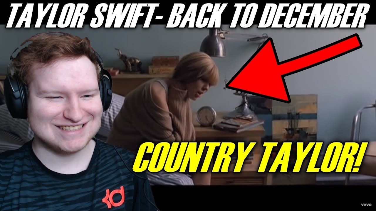 FIRST TIME HEARING Taylor Swift - Back To December REACTION!!