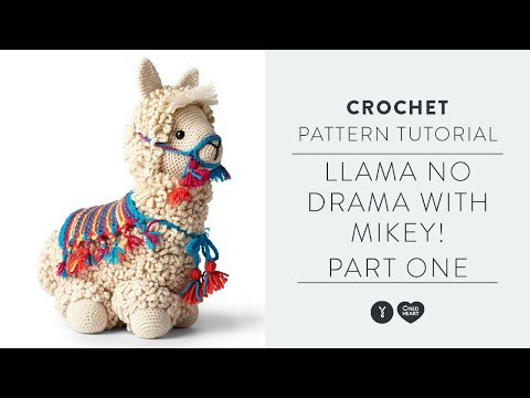 Llama-No-Drama Crochet Tutorial | With Mikey Of The Crochet Crowd | Part One