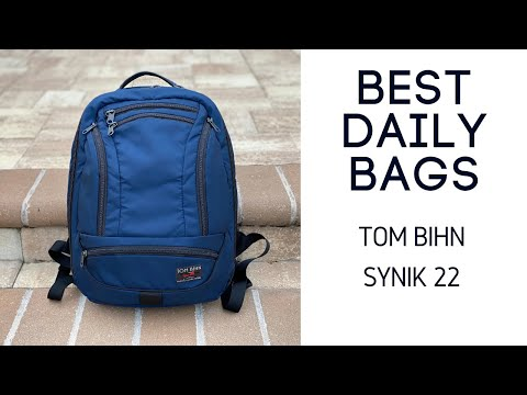Best Daily / Minimal Travel Bags: Tom Bihn Synik 22 Review