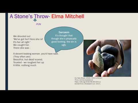 A Stone's Throw Elma Mitchell