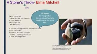 A Stone's Throw- Elma Mitchell