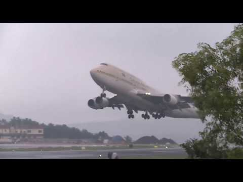 Saudia Biggest Airlines Take off | Karippur International Airport | Saudi Airlines