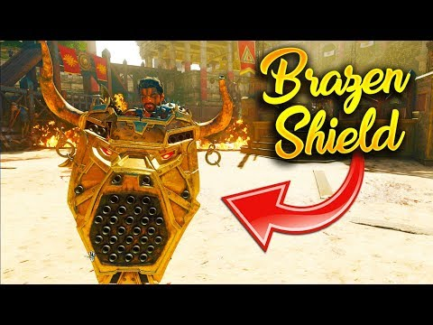 HOW TO BUILD THE BRAZEN BULL SHIELD ON IX (ALL PART LOCATIONS)