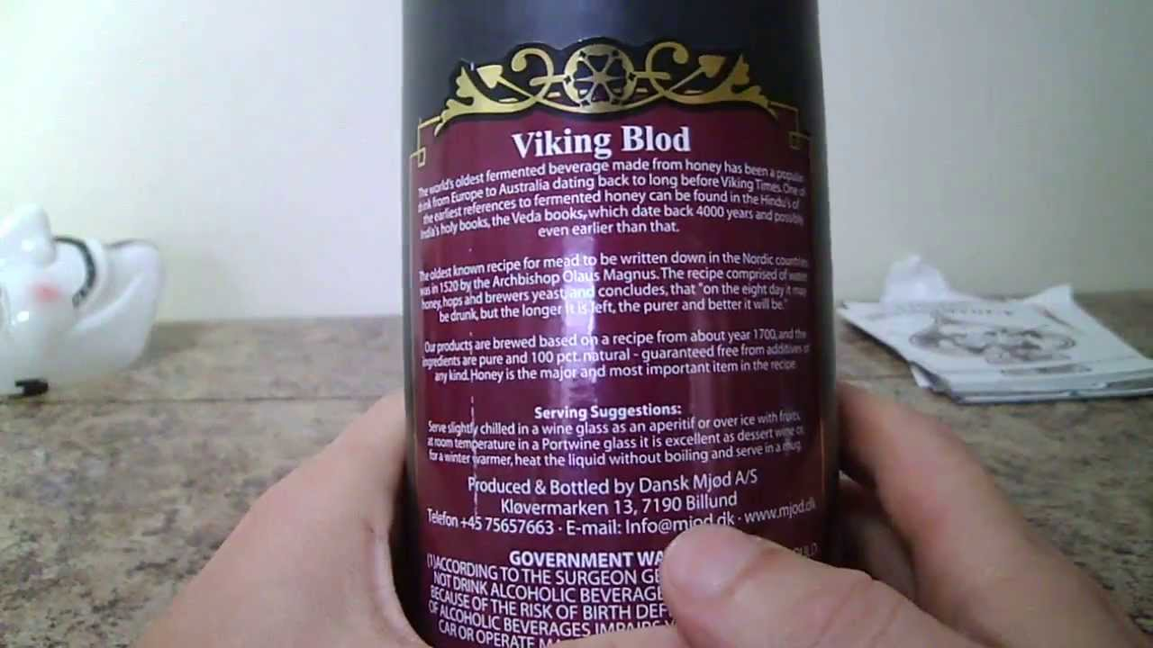 Viking Blod Mead Review You