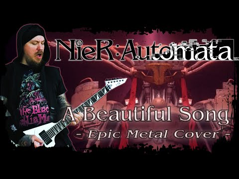 Nier: Automata - A Beautiful Song (Epic Metal Cover By Skar Productions)