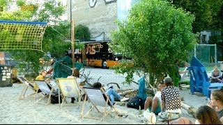 Wie an der Copacabana! - radioeins Public Viewing im YAAM