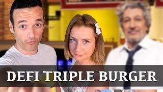 Défi du triple burger de la mort !