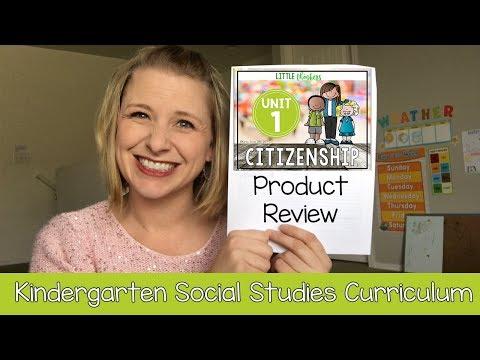 Kindergarten Social Studies Curriculum Review