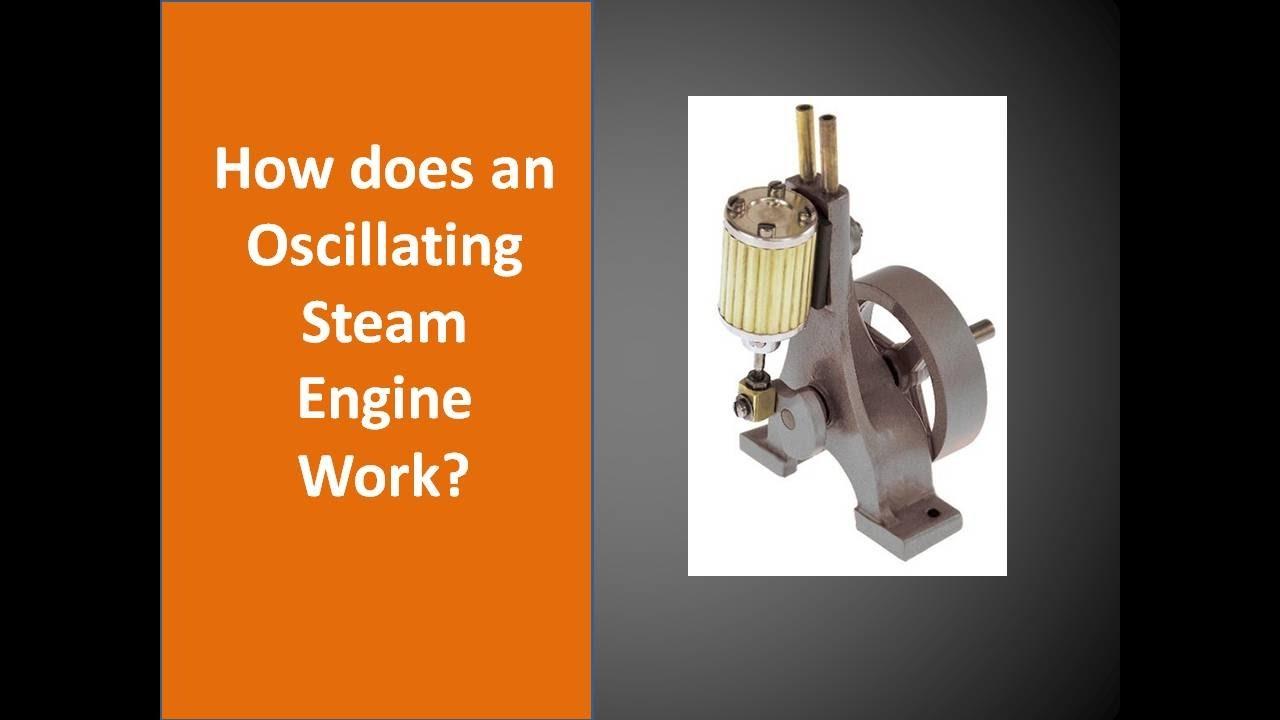 oscillating steam engine   works youtube