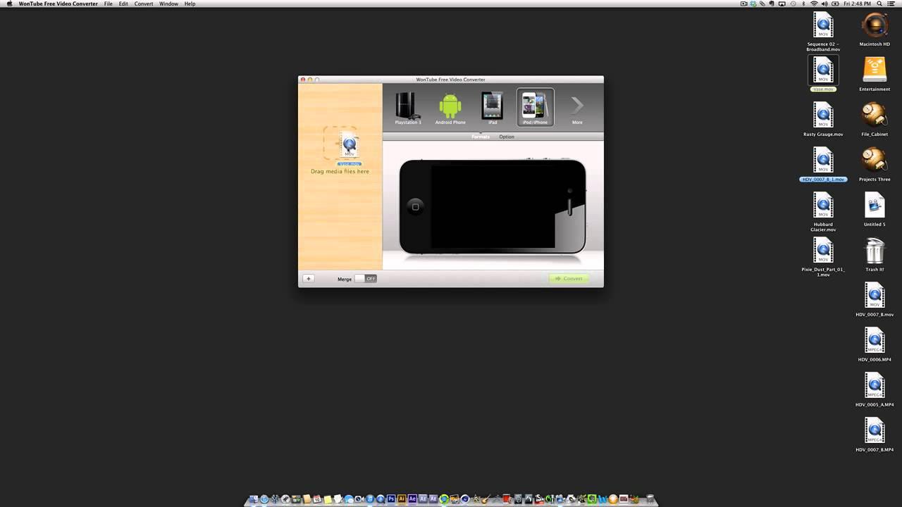 wontube free video converter mac