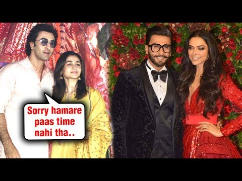 Ranbir Kapoor, Alia Bhatt & More | Stars Who MISSED DeepVeer Reception