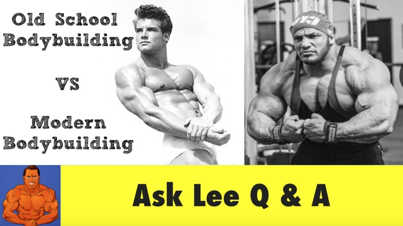 Steve Reeves Old School Bodybuilding Workout Vs Modern