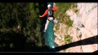 Падения с моста Джурджевича 170 метров Черногория 3