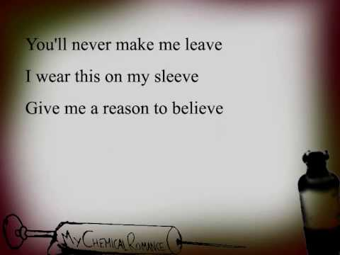 My Chemical Romance - Thank You For The Venom (lyrics)