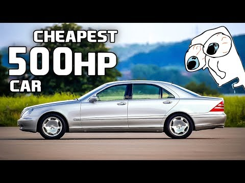 6 Cheapest 500hp Models Currently On The Used Car Market