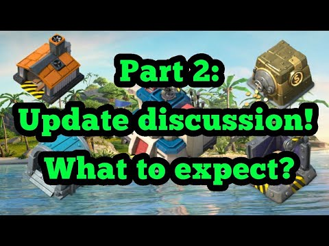 Boom Beach - Update Discussion. How Much Will It Cost And How Long Will It Take?