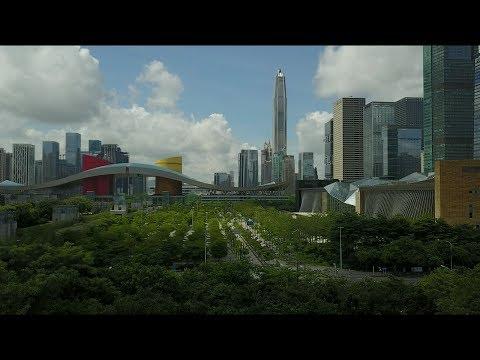 Mavic above the Shenzhen/Мавик над Шэньчжэнем