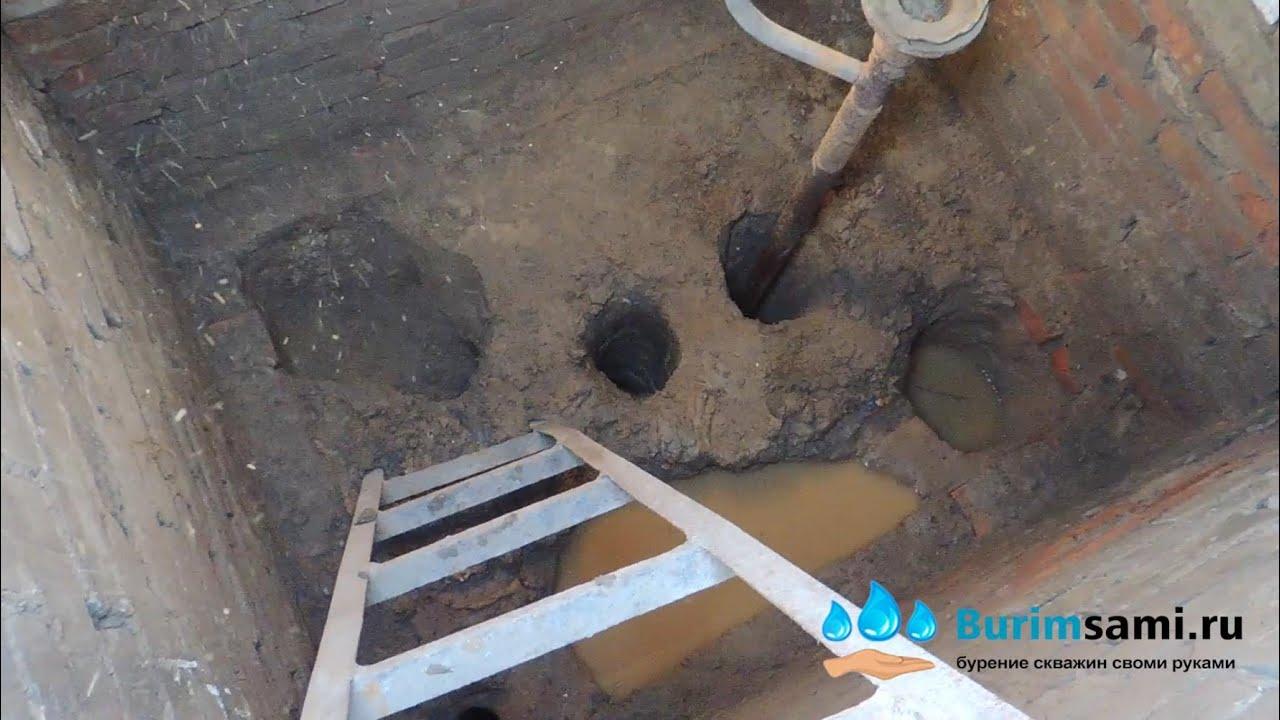 Выкопать скважину на даче