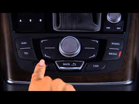 2012 Audi A6 A7 MMI media entertainment 720p Desktop