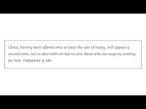 Solid Joys (January 17): Authentic Faith Is Eager for Christ to Come // Devotional by John Piper