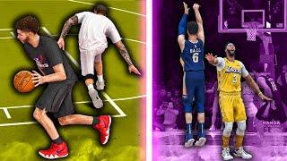 LaMelo Ball MyCarer #8 | Breaking Zo Ankles In Charity Game | HalfCourt Green Vs Lakers | NBA 2k20