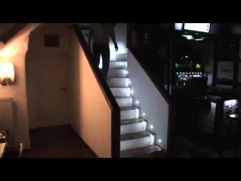 eclairage progressif automatique d 39 escalier youtube