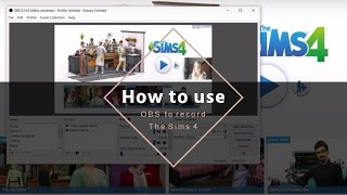 How to use OBS to record The Sims 4!