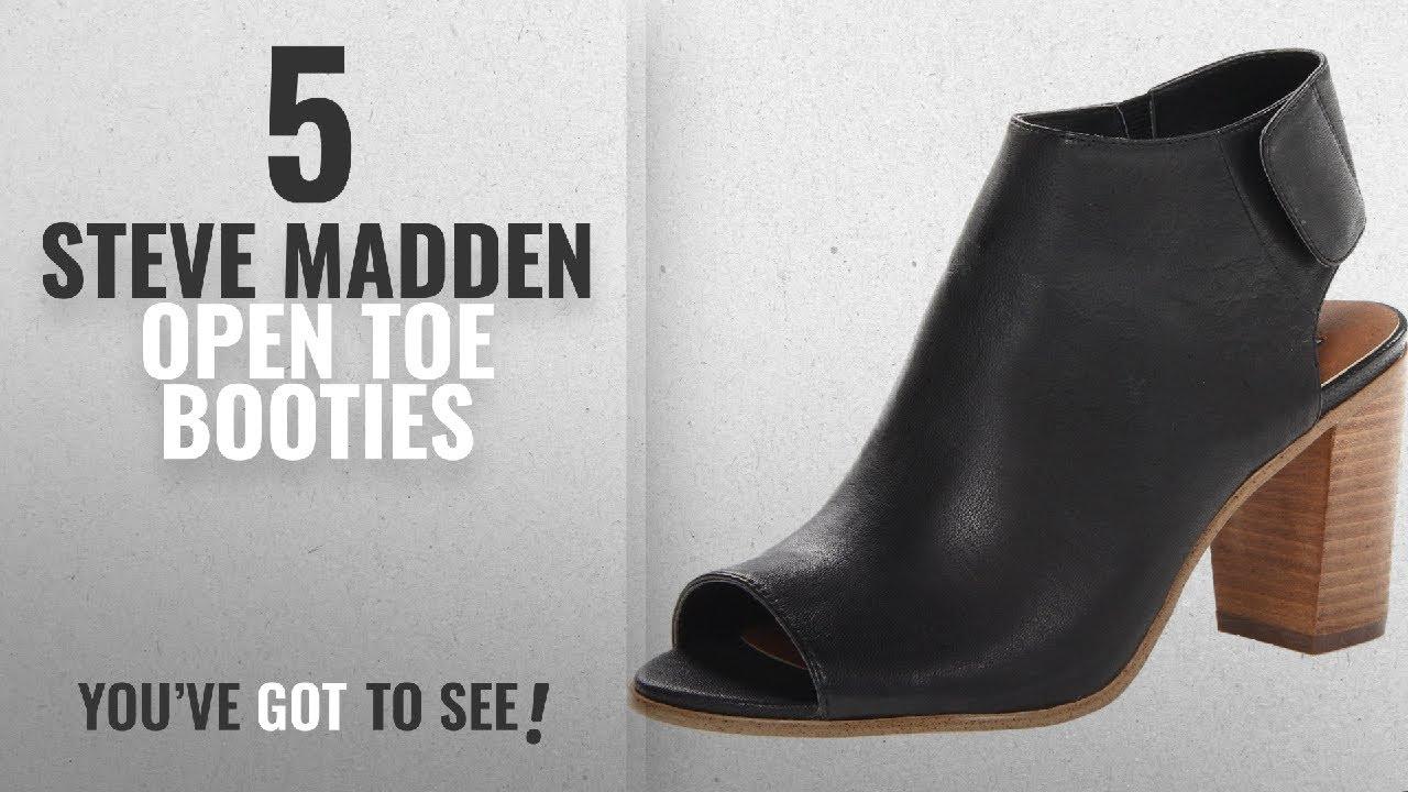012f74d0f82 Top 5 Steve Madden Open Toe Booties  2018   Steve Madden Women s ...