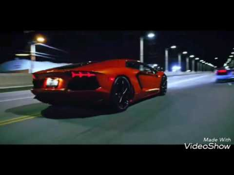 Chris Brown And Tyga Racing With Lamborghini Diablo Iii