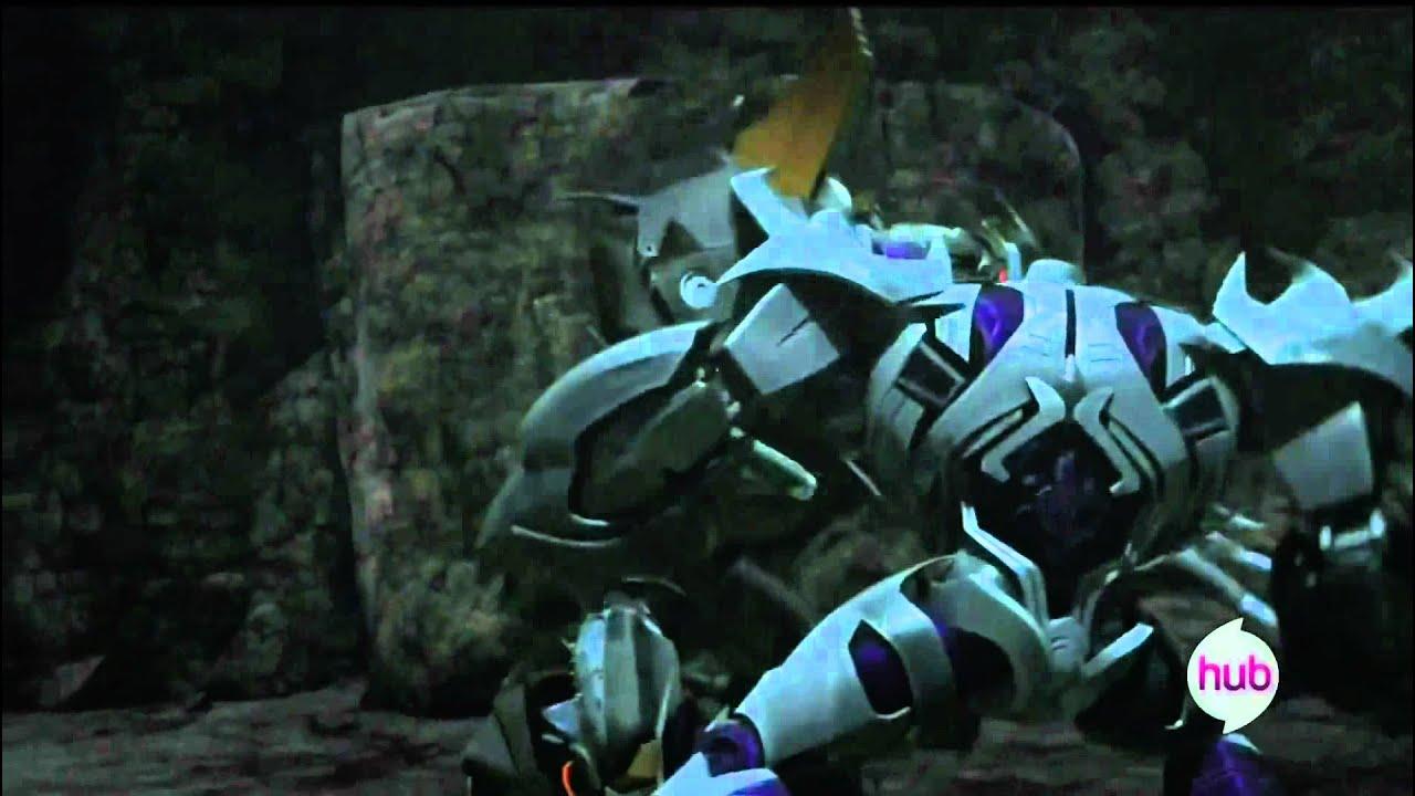 Transformers prime megatron vs the insecticon hd youtube - Transformers prime megatron ...