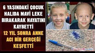 Kanserden ölen 6 yaşındaki çocuğun halıda bıraktığı mürekkep lekesinin anneye hatırlattıkları...