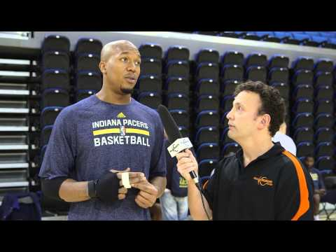 Pacers Forward David West On Playing Inside And Out