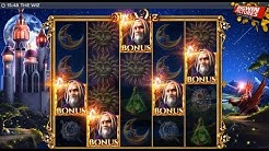 The Wiz Slot - 5 Scatters Free Spins Mega Win!